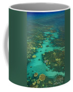 Kayaking Through Beautiful Coral Coffee Mug