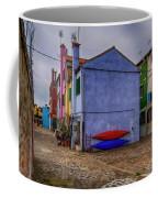 Kayaks On Burano Venice_dsc5681_03072017 Coffee Mug