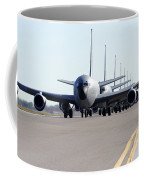 Kc-135 Stratotankers In Lephant Walk Coffee Mug