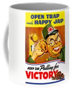 Keep Em Pulling For Victory - Ww2 Coffee Mug