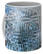 Keeping It Cool - Abstract Art Coffee Mug