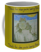 Kermit Sez Coffee Mug
