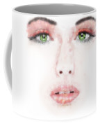 Kessania - White Face Coffee Mug