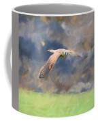 Kestrel Flying Coffee Mug