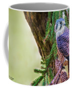 Kestrel On The Cones Coffee Mug