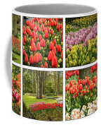 Keukenhof Garden Collage Coffee Mug