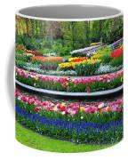 Keukenhof Tulips Ornamental Garden  Coffee Mug