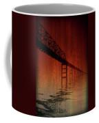 Key Bridge Artistic  In Baltimore Maryland Coffee Mug