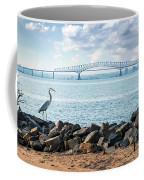 Key Bridge From Ft Smallwood Pk Coffee Mug