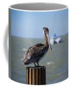 Key Largo Florida Pelican Yacht Coffee Mug