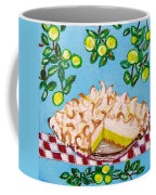 Key Lime Pie Mini Painting Coffee Mug