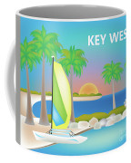 Key West Horizontal Scene Coffee Mug