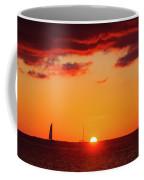 Key West Red Cloud Sunset Coffee Mug