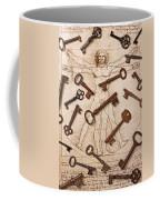 Keys On Artwoork Coffee Mug