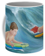 Kids Bodyboarding Coffee Mug