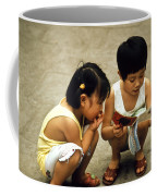 Kids In China 1986 Coffee Mug