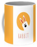 Kids Rabbit Poster Coffee Mug