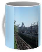 Moscow Kievskaya Train Yard Coffee Mug
