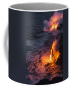 Kilauea Volcano Lava Flow Sea Entry 6 - The Big Island Hawaii Coffee Mug
