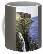 Kilt Rock On The Isle Of Skye Coffee Mug