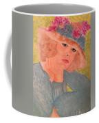 Kim Alexis In Flowery Hat Coffee Mug