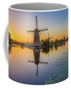 Kinderdijk At Sunset Coffee Mug