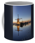 Kinderdijk In The Blue Hour Coffee Mug