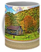 Kindred Barns Painted Coffee Mug
