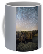 King And Queen Star Trails Coffee Mug