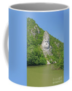 King Decebal, Rock Sculpture Coffee Mug