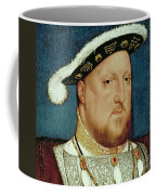 King Henry Viii Coffee Mug by Hans Holbein the Younger