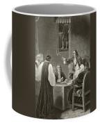 King James II Of England Facing Bishops Coffee Mug