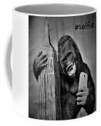 King Kong Selfie B W  Coffee Mug