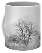 King Mountain Monochrome Coffee Mug
