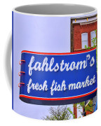 King Of Fish Fish Market  Coffee Mug