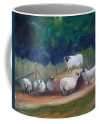 King Of Green Hill Farm Coffee Mug by Donna Tuten