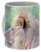 King Of The Jungle Profile  Coffee Mug