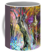 King Solomon And The Two Mothers Coffee Mug