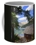 Kintla Lake Ranger Station Glacier National Park Coffee Mug