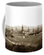 Kirkbride At Napa State Hospital In California Circa 1890 Coffee Mug