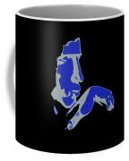 Kiss Of The Blues Coffee Mug