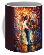 Kiss On The Bridge Coffee Mug