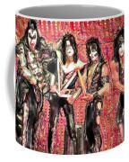 Kiss Watercolor Coffee Mug