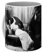 Kissing, C1900 Coffee Mug