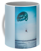 Kissing Over The Ocean Coffee Mug