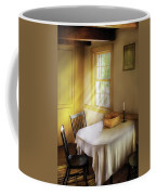Kitchen - The Empty Basket Coffee Mug by Mike Savad