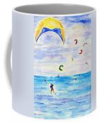 Kite Surfer Coffee Mug