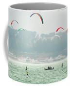 Kiteboarding In The San Francisco Bay Coffee Mug