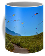 Kites Coffee Mug by Robert Bales