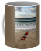 Kitesurfing Coffee Mug by Stelios Kleanthous